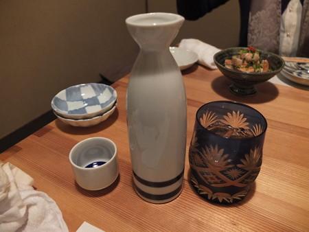 八重菊 日本酒(燗:二合)、梅酒