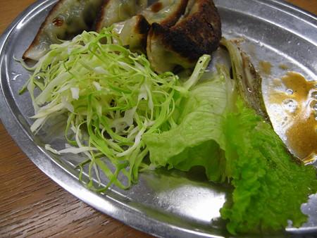 宝亭 餃子定食(出前) 副菜