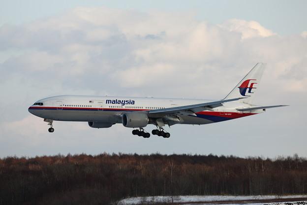 マレーシア航空 B777-200  9M-MRO