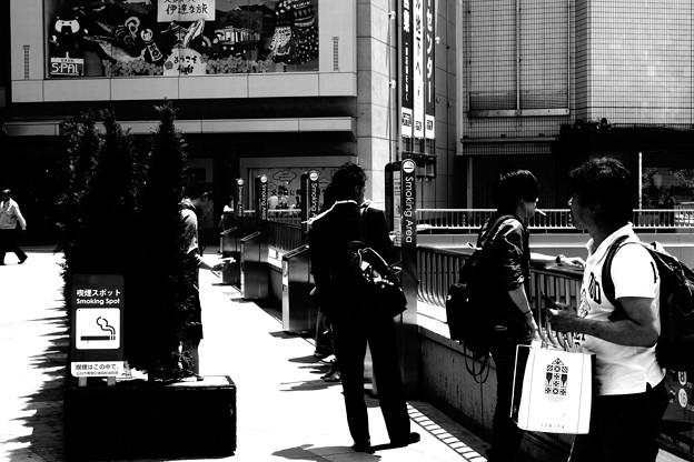 【シリーズ雑踏】スモーカー