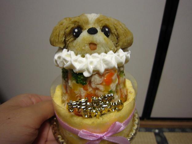 写真: くるみケーキ