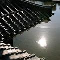 松本城の屋根