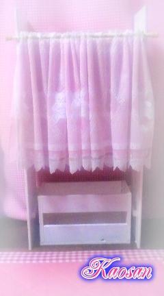 カーテン付きボックス