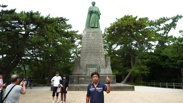 坂本龍馬の像(桂浜)