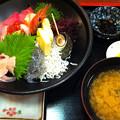 写真: しらす海鮮丼