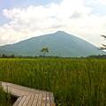 写真: 男体山