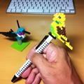 写真: ナノブロックペン
