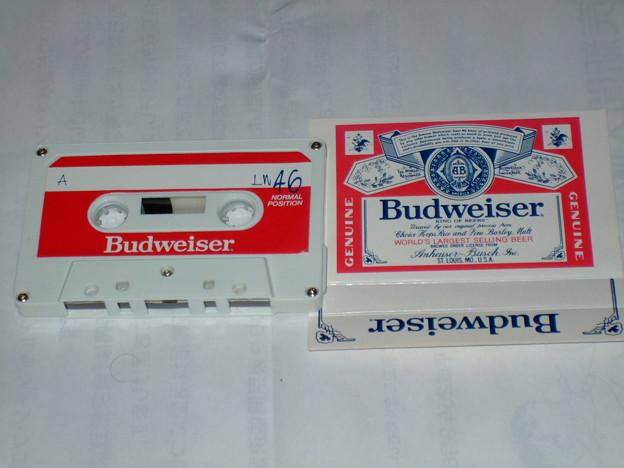 おまけ Budweiserカセットテープ