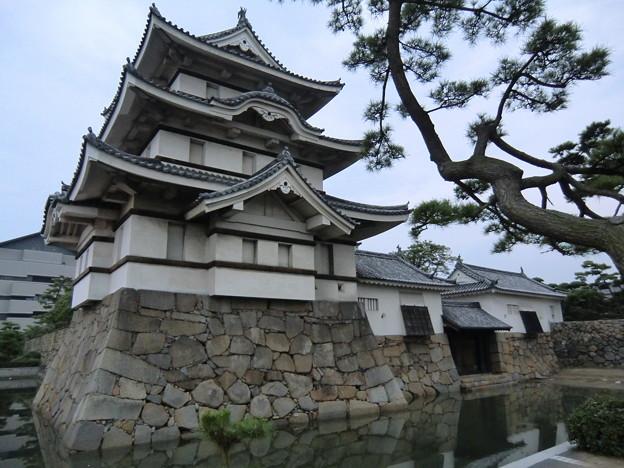 高松城 月見櫓・水手御門・渡櫓