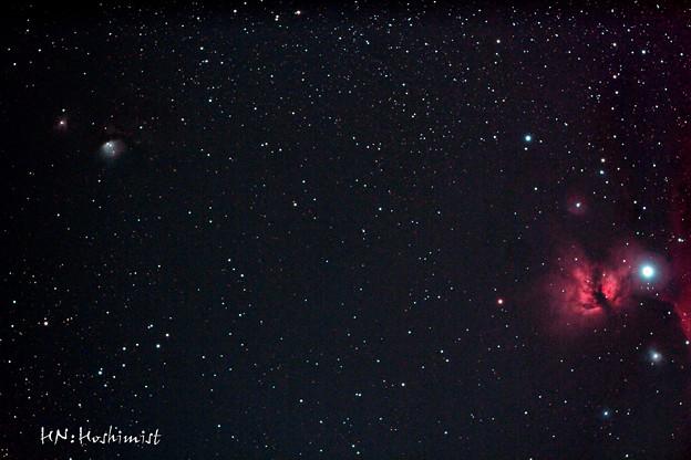 Photos: M78からNGC2024燃える木星雲まで(IMG_3855)