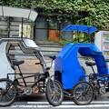 写真: 人力 サイドカー!