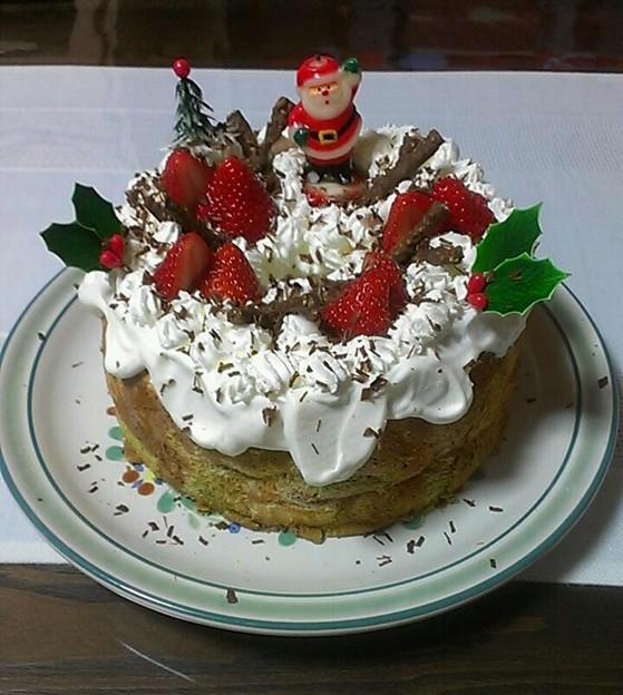 今年は手作りケーキ!!