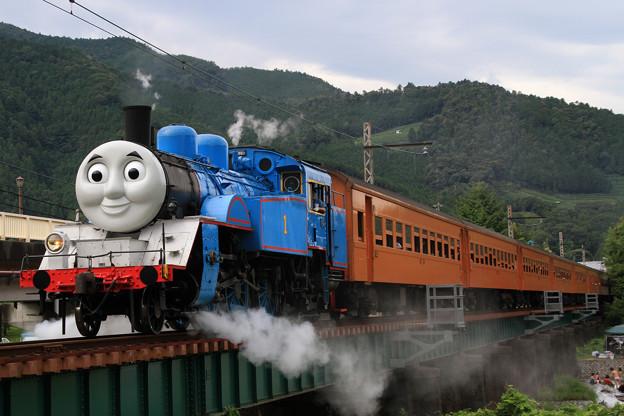 SL機関車トーマス@家山