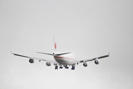 日本国政府専用機B747-400@千歳航空祭01