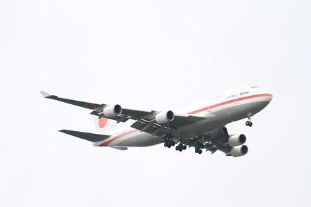 日本国政府専用機B747-400@千歳航空祭02