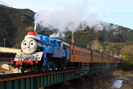機関車トーマスクリスマス仕様@家山