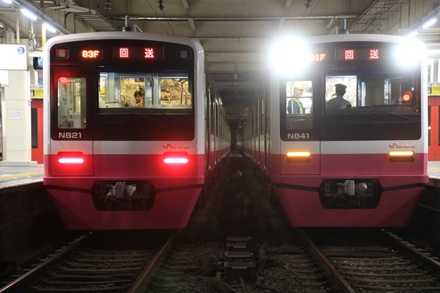 新京成N800並び01@京成高砂