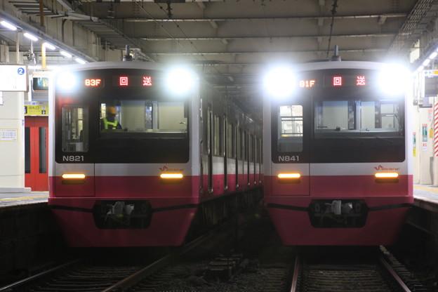 新京成N800並び03@京成高砂