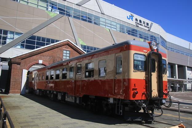 糸魚川駅のキハ52