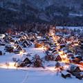 Photos: 白川の夜明け