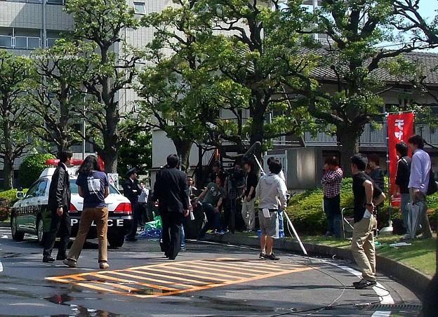 2013テレビ朝日 木曜ドラマ「ダブルス~二人の刑事」ロケat埼玉