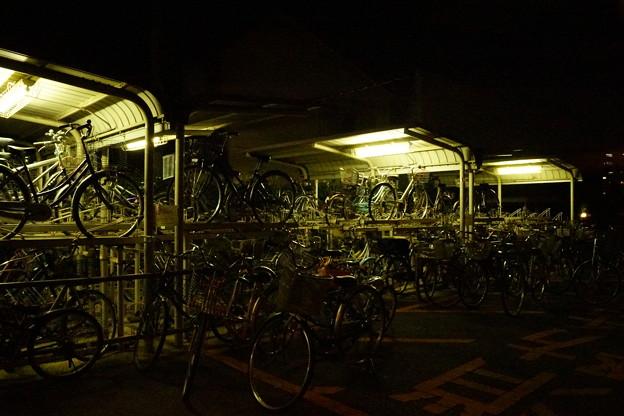 自転車置き場の怪