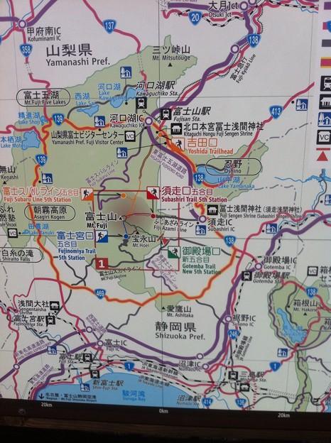 【SPARK】富士山五合目は四つあることを初めて知った