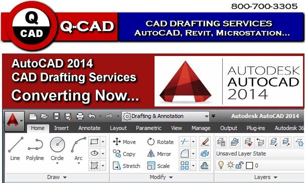 AutoCAD 2014 CAD Drafting Services