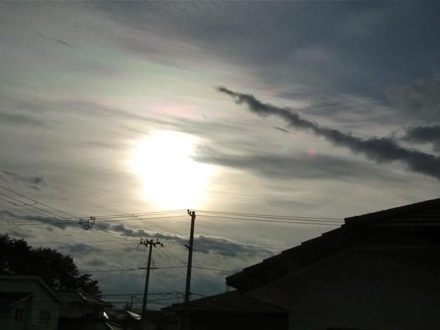 なんとなく彩雲。。