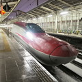 Photos: スーパーこまち 試運転 仙台駅新幹線ホームにて