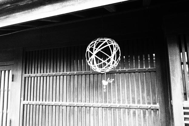 竹原町並み保存地区 白黒撮影