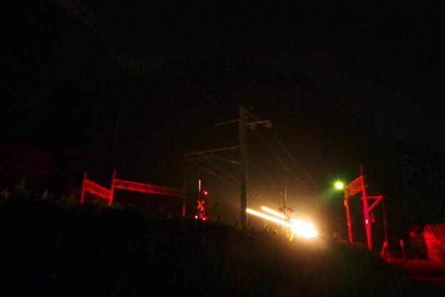 夜間撮影 トワイライトエクスプレス
