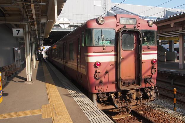 高岡駅 氷見線 キハ40形