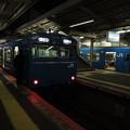 夜の天王寺駅