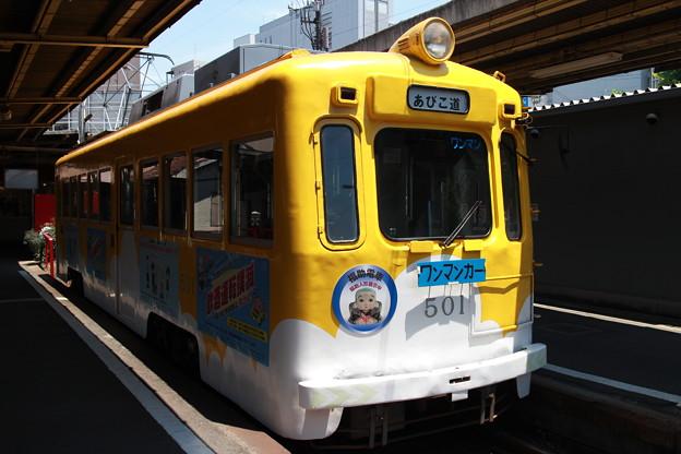 久々の阪堺線です