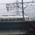 永原駅にて