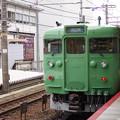 113系 山科駅にて