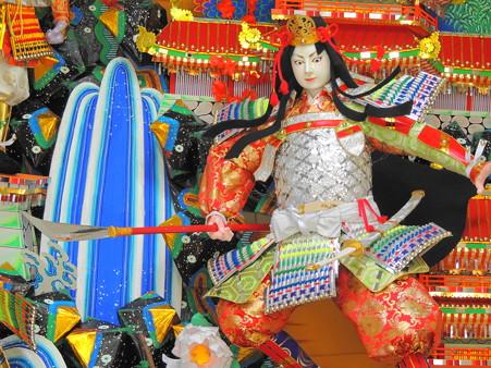 飾り山笠人形