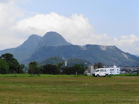 香春岳とボタ山