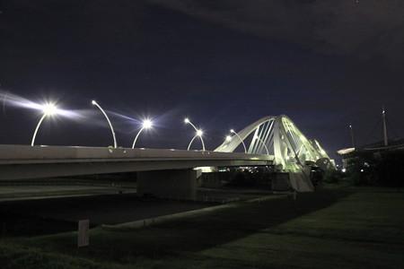 下流からの豊田大橋