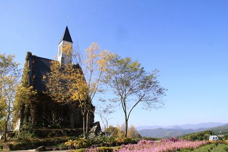牧歌の里:丘の上の教会