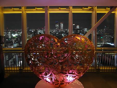 名古屋テレビ塔展望台からの夜景
