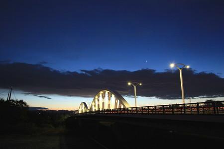 黎明の久澄橋