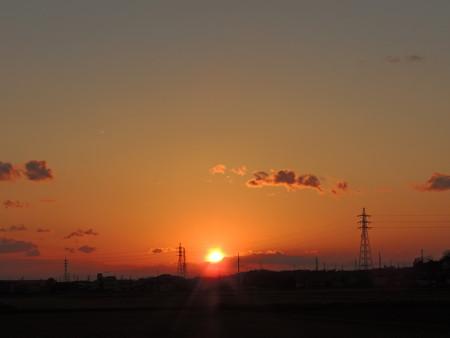 20121208夕陽
