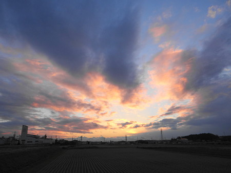 20121210夕焼け空