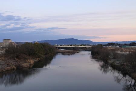 猿投山と矢作川