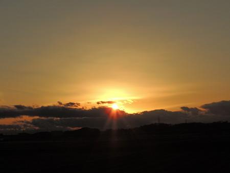 20130122夕陽