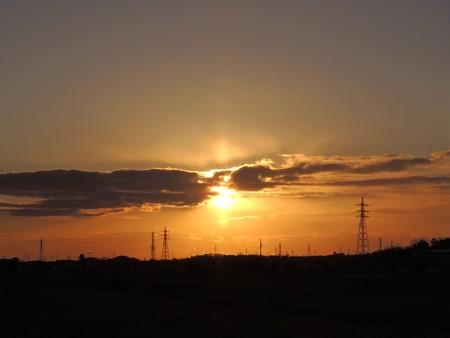 20130128夕陽