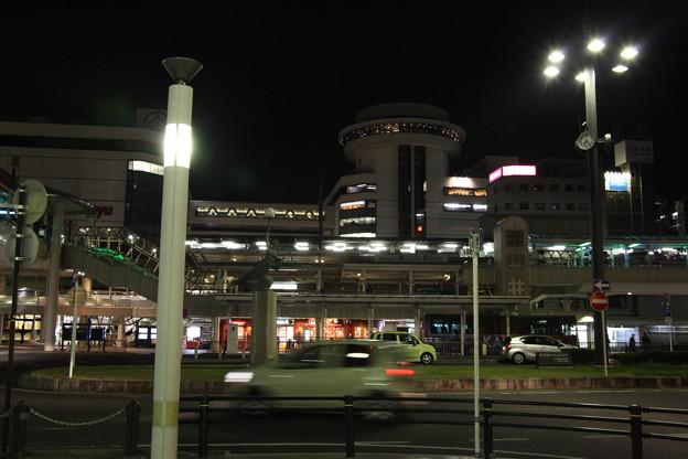豊田市の夜景:豊田市駅