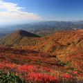 写真: 栗駒山からの眺望